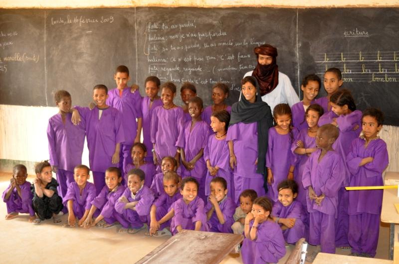 Ecole soutenue par Assoc Adkoul Niger