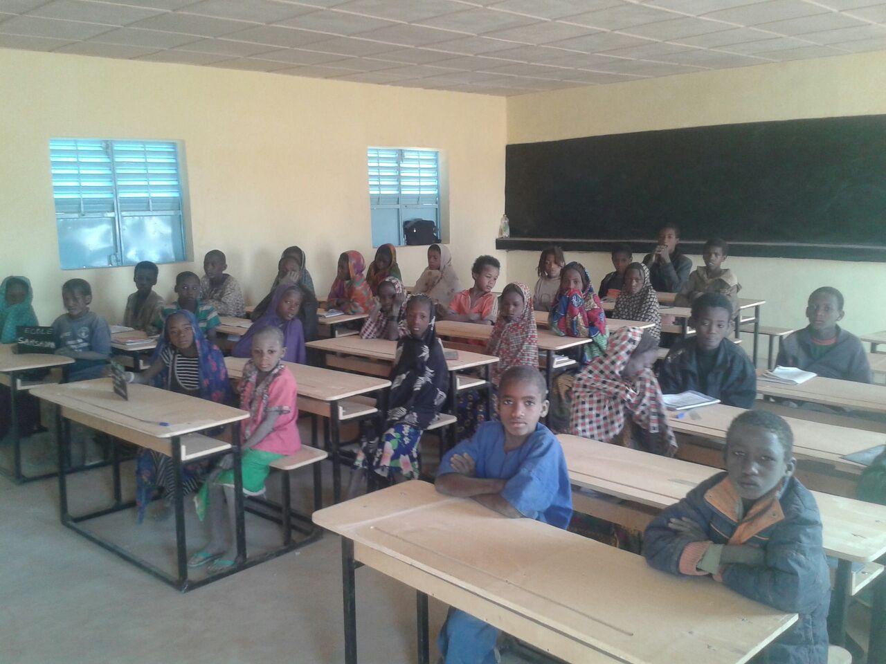 Nouvelle école de Sarsadan 2017