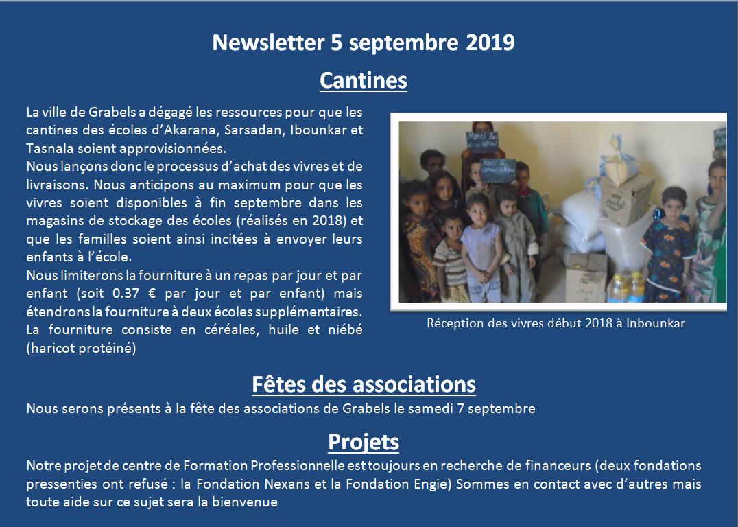 Newsletter 2019 09 1